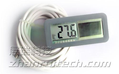 太阳能数字温度计 实拍图1