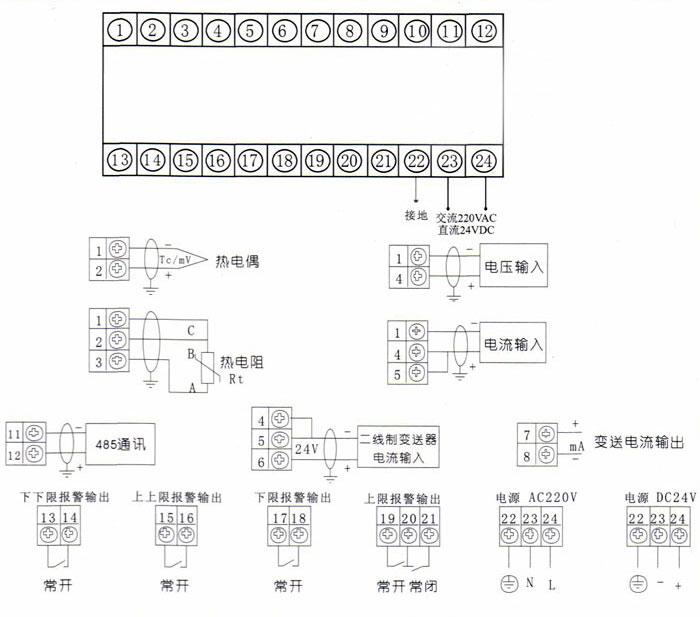 单回路数显表_单通道数显表