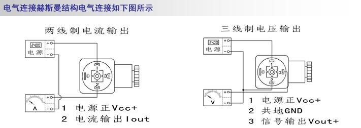 小巧型压力变送器结构精巧,安装方便,不受空间限制,输出二线制/三线制