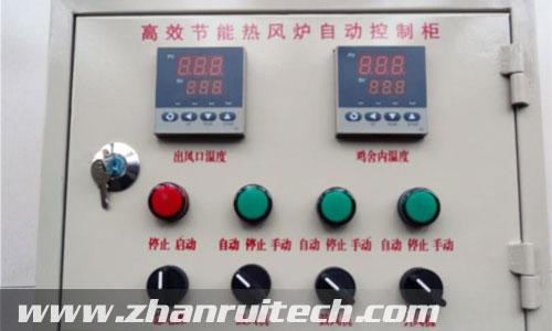 智能数显表-湖南养殖厂温度控制箱工程