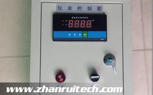 多功能数显表用于郑州黄河水利消防水库