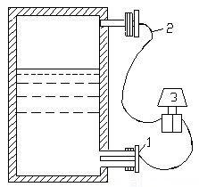 差压式液位变送器安装式意图