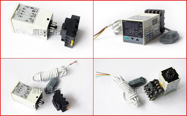 导轨温湿度控制器,RH100温湿度控制器