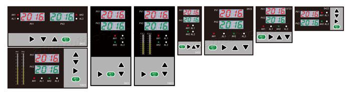 双回路数字显示控制仪