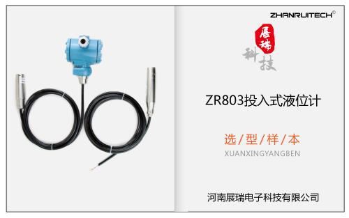 ZR803投入式液位计选型样本 V2017.11