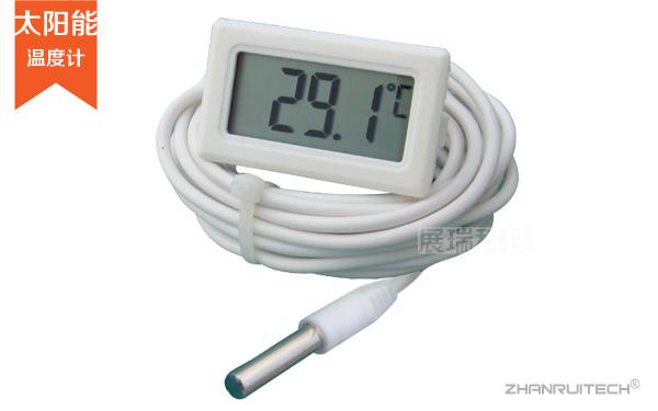 数字温度计_太阳能电子温度计