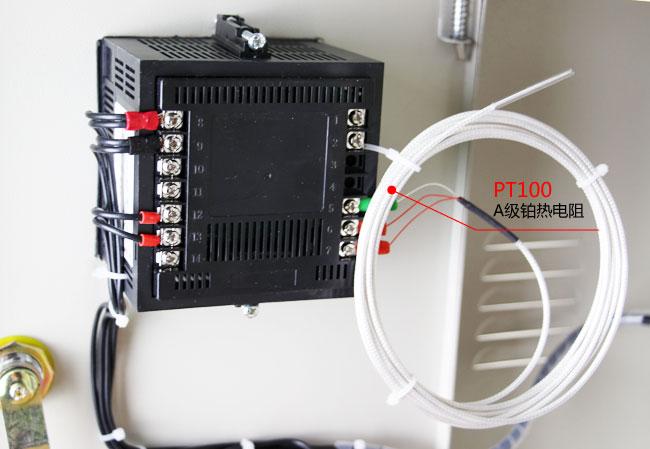 锅炉控制箱采用PT100传感器