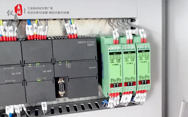 ZR4000模拟量隔离变送器用于PLC自控柜案例