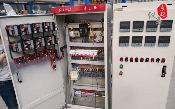 ZR-C903智能数显表应用:平顶山温度自动化控制系统