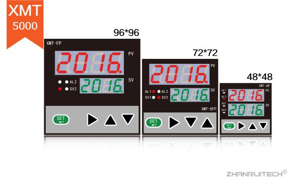 XMT5000数字显示控制仪_双屏数字显示控制仪-3