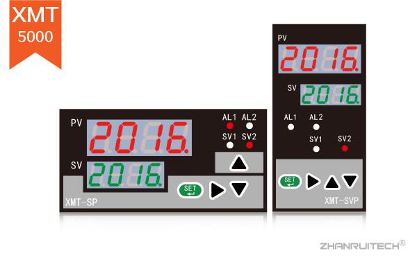 XMT5000数字显示控制仪_双屏数字显示控制仪-2