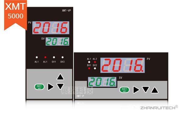 XMT5000数字显示控制仪_双屏数字显示控制仪
